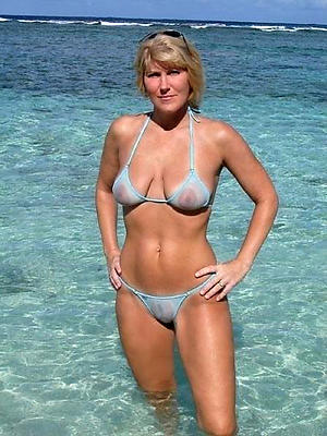 slutty amateur mature bikini