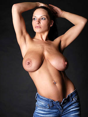 matures in jeans posing nude
