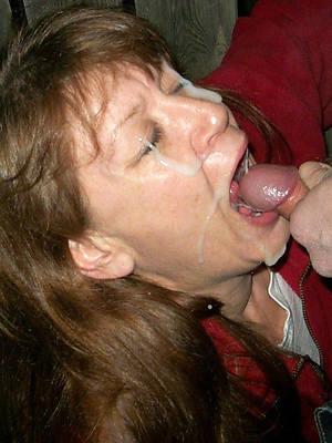 crazy amateur mature facial pictures