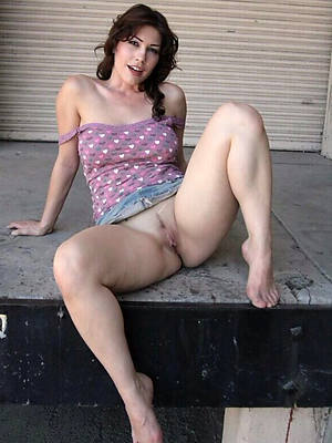 colored hair mature upskirt pussy