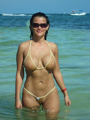 crazy full-grown women bikinis