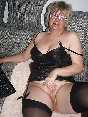 nasty mature blonde with glasses
