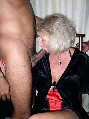 wonderful granny wants to be hung up on