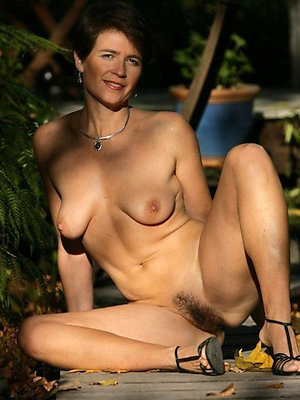crazy mature hairy bush photo