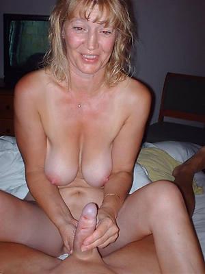 curvy mature handjobs nude photo