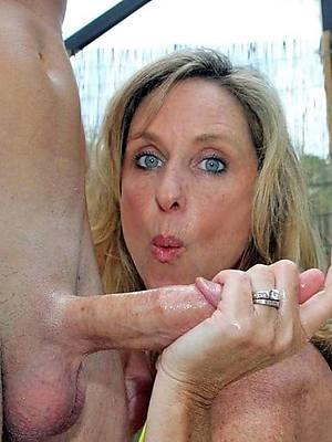 beautiful mature handjob pictures