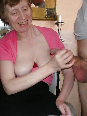 homemade mature handjob porn pics