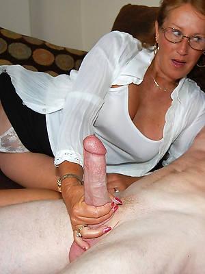 handjobs mature xxx porno
