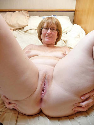 naked grown-up with glasses stripped