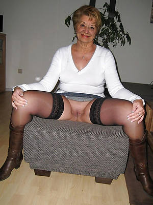 mature milf stockings stripped