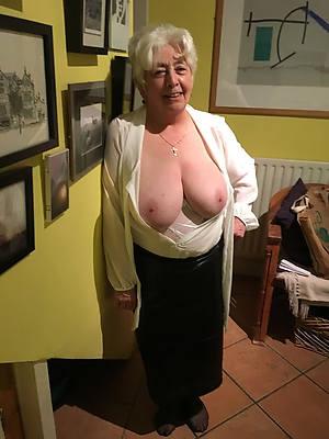 slutty mature granny big tits pics