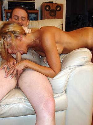 gorgeous mature threesome copulation