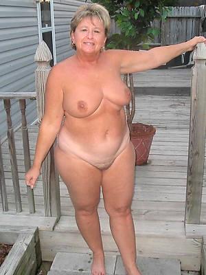 real fat mature photos