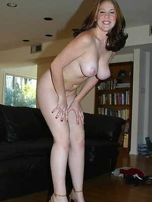 mature women with sexy legs stripped