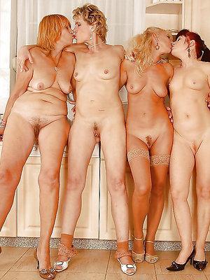 beautiful big tit mature lesbians