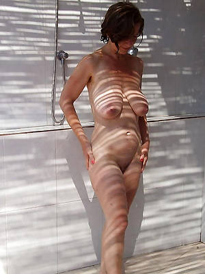 slutty mature women close by the shower