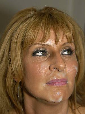pornstar amateur mature women facials pics