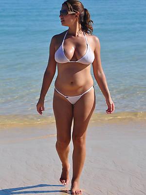 real mature women in bikini photos