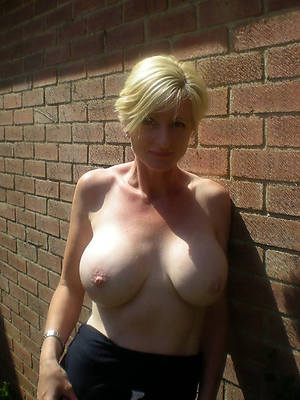 porn pics be advantageous to shorn full-grown blonde housewife