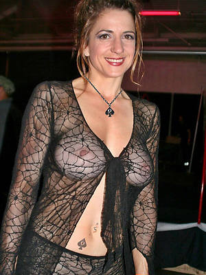 mature in sexy lingerie tits pics