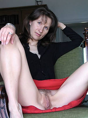 Hairy older upskirt mature think