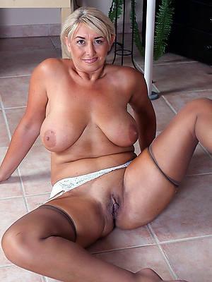 mature ladies over 60 posing nude