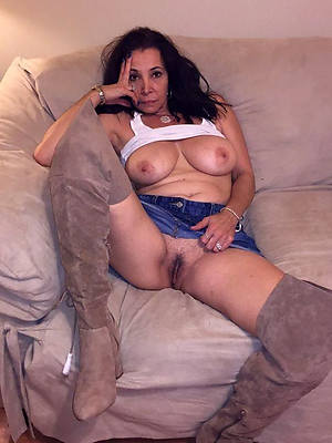 down in the mouth mature niggardly jeans stripped