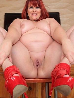 fat mature woman in the altogether porn pics