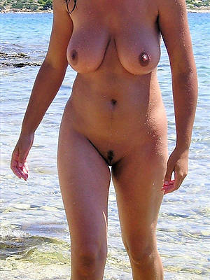 free porn pics be worthwhile for mature meagre beach
