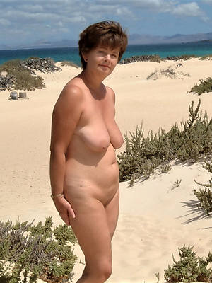 matured on beach old lady porn