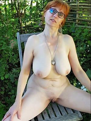 mature redheads aqueous porn