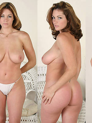 busty women dressed undressed pics