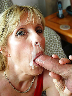 mature facials compilation and beuty pussy