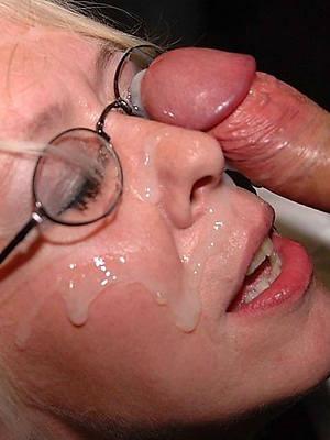 naked pics of mature facial cumshots