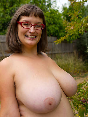 mature with glasses having sex