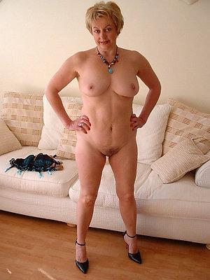hot nude old ladies posing nude