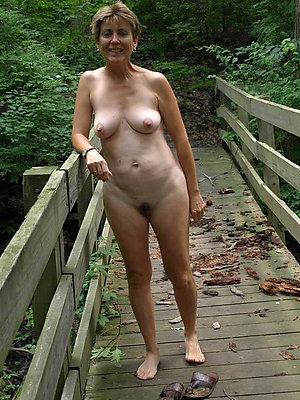 Mature outdoor nudity
