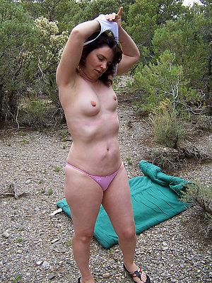 mature in panties stripped