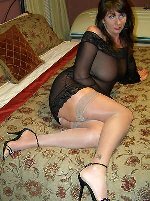 busty mature nylons amateur tits