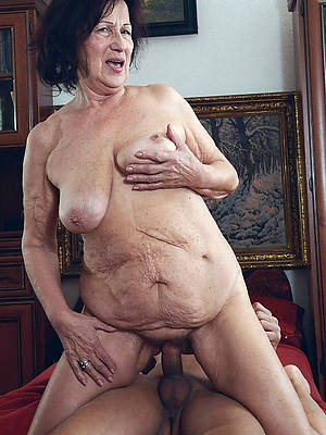 down in the mouth naked mature grandma