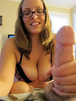 sexy naked mature handjob cumshots pics
