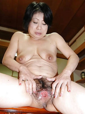 in one's birthday suit mature asian women shows pussy