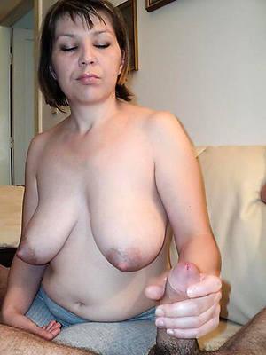 appealing nude mature handjob xxx