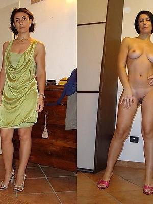 inexpert mature dressed then undressed pics