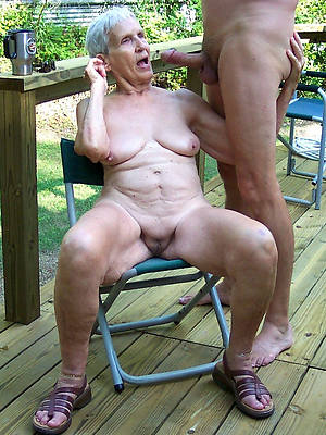 overt pics of hairy of age granny