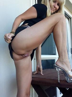 big mature legs