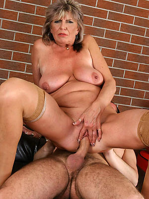 naughty mature woman lovemaking