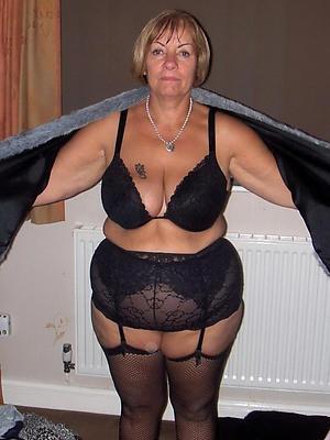 beautiful  matures in black stockings