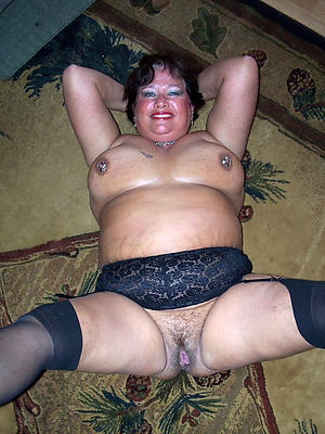 matures in black stockings stripped