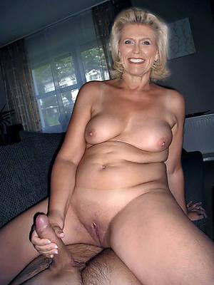 free porn pics be incumbent on german mature handjob